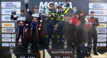 Monza Rally Show 2018, Valentino Rossi centra la settima vittoria. Il Master's Show ad Antonio Cairoli