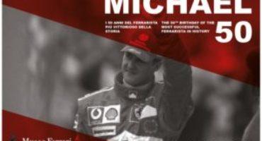 Il Museo Ferrari celebra con la mostra 'Michael 50' il pilota Ferrari più vincente di sempre