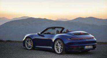 Porsche svela la nuova 911 Cabriolet