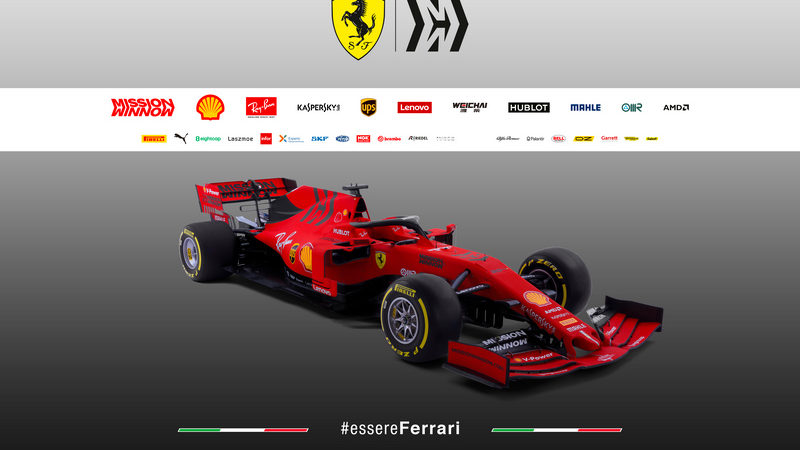 Ferrari svela la SF90, la 65esima monoposto del cavallino per il campionato del mondo di Formula 1