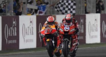 MotoGP, un grande Dovizioso espugna il Qatar