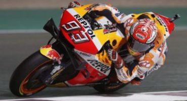 MotoGP, Marquez imprendibile nelle libere in Qatar