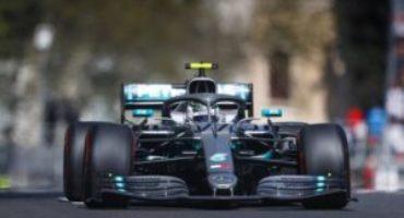 Formula 1, Bottas vince il GP dell'Azerbaijan davanti a Hamilton e Vettel