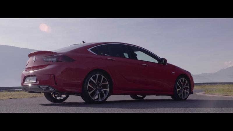 Opel, svelata la gamma motori della nuova Insignia GSI