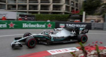 Formula 1 – GP Monaco, Lewis Hamilton conquista la pole ed il record della pista