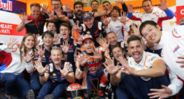 MotoGP, Marquez centra la decima vittoria in Germania