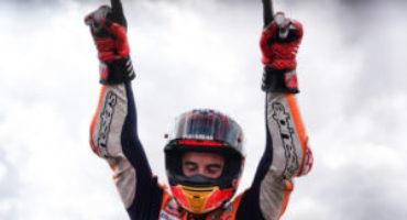 MotoGP, Marquez suona l'ottava sinfonia ad Aragon