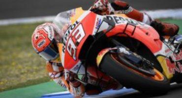 MotoGP, Marquez chiude al comando le libere di Aragon