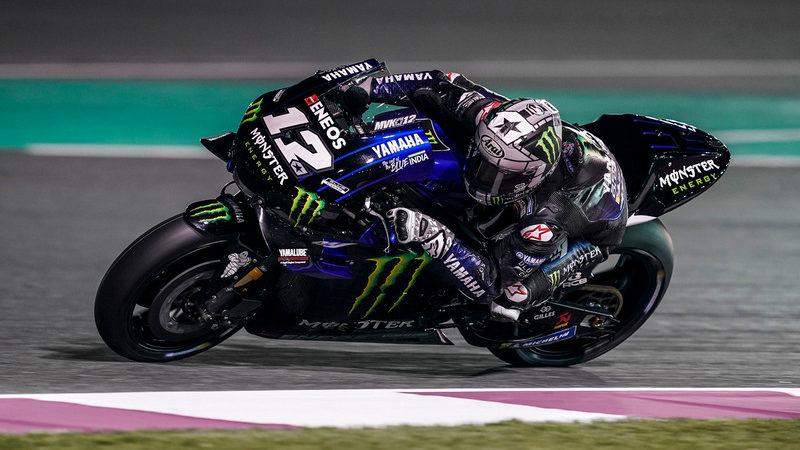 MotoGP, Vinales chiude al comando le libere di Misano