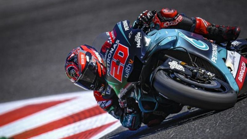 MotoGP, Quartararo domina le libere di Valencia