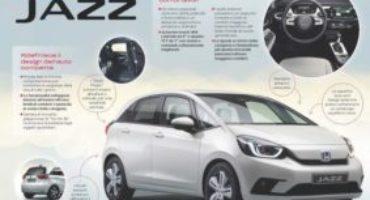 Honda, la nuova generazione di Jazz ridefinisce il design dell'auto compatta