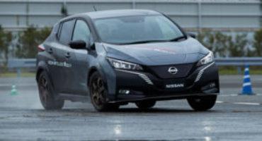 Nissan presenta e-4ORCE, la trazione integrale con doppio motore elettrico