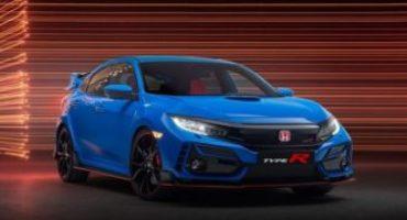 Honda, al Salone di Tokyo il restyling della nuova Civic Type R