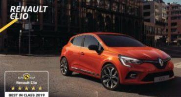 Nuova Renault Clio, la city car più sicura, secondo EuroNCAP