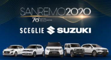 Suzuki, auto ufficiale della 70a edizione del Festival di Sanremo