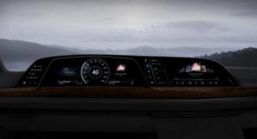 Cadillac, debutto mondiale sulla nuova Escalade del primo cruscotto P-OLED di LG