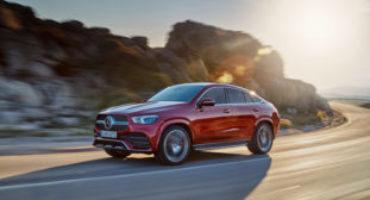 Nuovo Mercedes GLE Coupe, disponibile in cinque versioni
