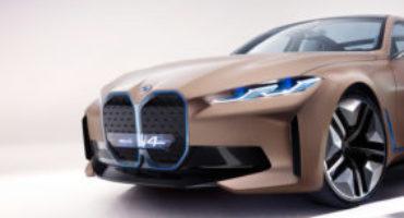 BMW Concept I4, l'inizio di una nuova era elettrificata, nel segno del piacere di guida BMW