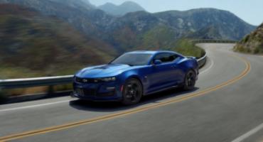 Chevrolet Camaro MY20, disponibile con il V8 6.2L da 455 CV, si evolve nel design e nelle performance