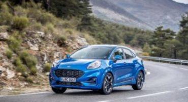 Mercato, Ford Puma è la vettura ibrida più venduta in Italia nel bimestre Gen-Feb 2020
