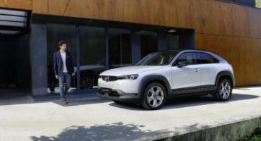 Mazda svela la gamma e i prezzi della MX-30