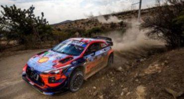 WRC – Hyundai Motorsport conquista con Tanak il secondo posto al Rally del Messico