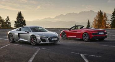 Audi R8 RWD, sotto il vestito nasconde un'anima racing