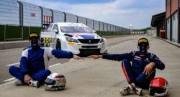 Peugeot 308 TCR, Massimo Arduini e Giuseppe Bodega scendono in pista per i primi test pre-stagionali
