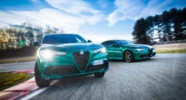 Nuove Giulia e Stelvio Quadrifoglio MY 2020, performance al top e nuovi contenuti tecnici