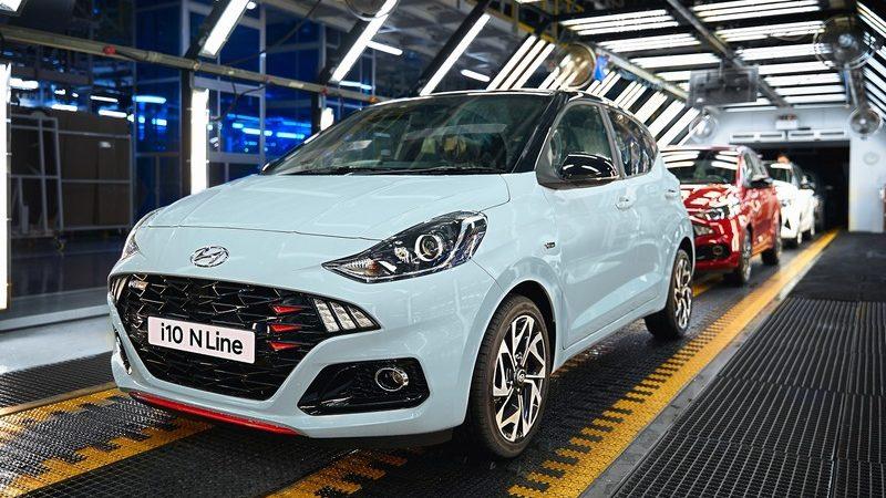 Hyundai avvia in Europa la produzione della Nuova i10 N Line