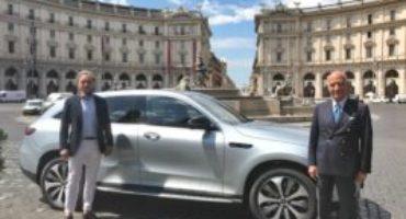 Mercedes-Benz, il Presidente dell'Automobile Club d'Italia, Angelo Sticchi Damiani, è il primo cliente EQC