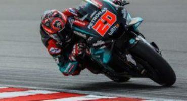 MotoGP, GP Andalusia, Quartararo in pole davanti a Viñales e a un ritrovato Rossi