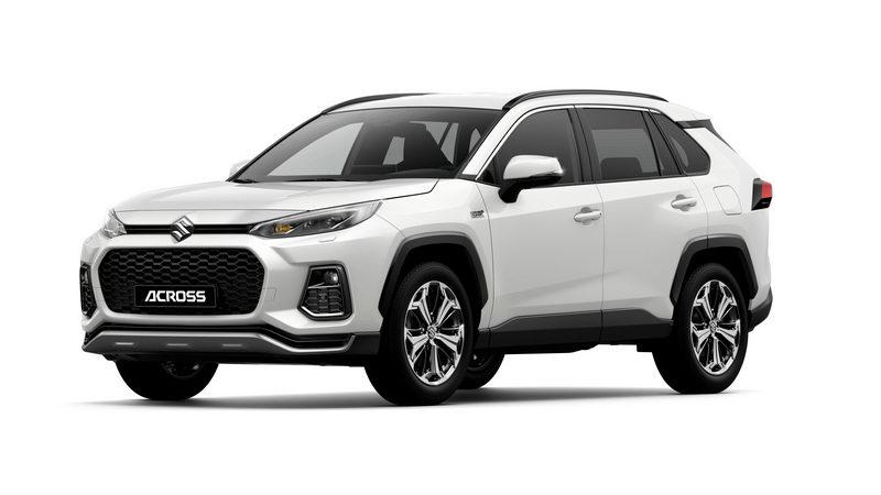 Suzuki lancia ACROSS, il nuovo SUV ibrido plu-in dotato di trazione integrale 4×4 E-Four