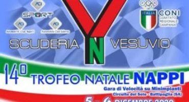 14° Trofeo Natale Nappi, confermata la kermesse motoristica organizzata dalla Scuderia Vesuvio