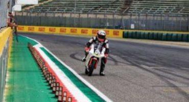 Motociclismo, la corsa di Samuele Santi è appena iniziata